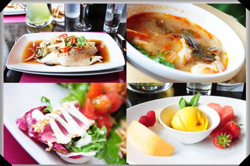 Lunch at Saba