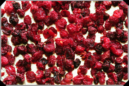 Dried redcurrants