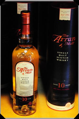Arran single malt whisky