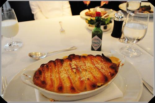 Bentley's fish pie