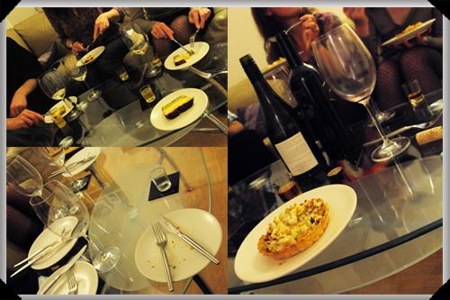 Dinner party scenes