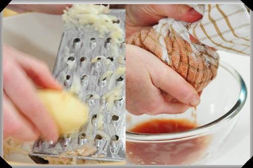 Grating and squeezing