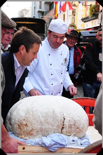 Padraic and the record dumpling