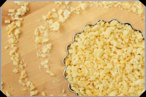 Potato crumbs