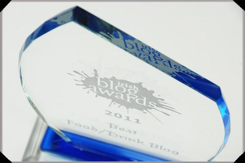 Irish blog award 2011