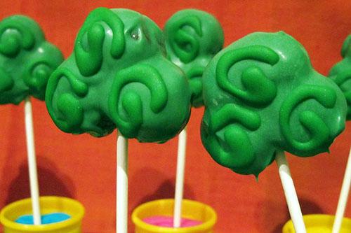 Shamrock Cakepops