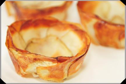 Potato cups
