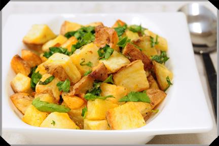 Potatoes parmentier