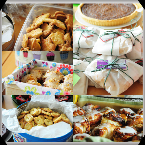 Baked goods by Irish food bloggers
