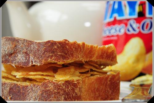Irish food: Crisp sandwich