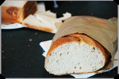 Bretzel bread