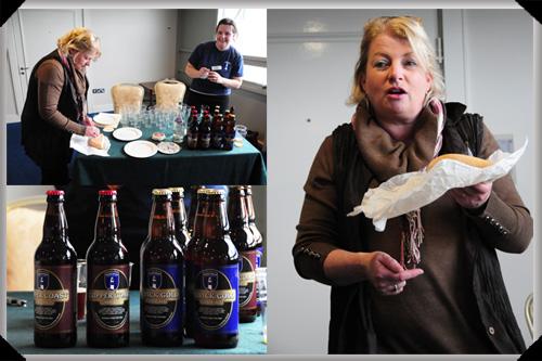 Knockdrinna cheese and Dungarvan Beer