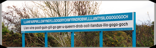 Long Welsh place name