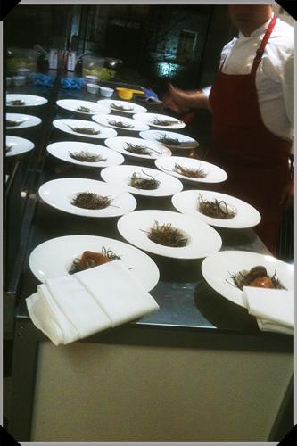 Feeding time at Edible