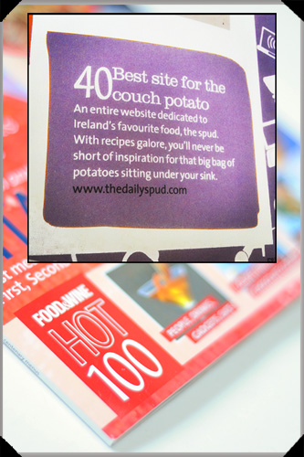 Food and wine hot 100 2012