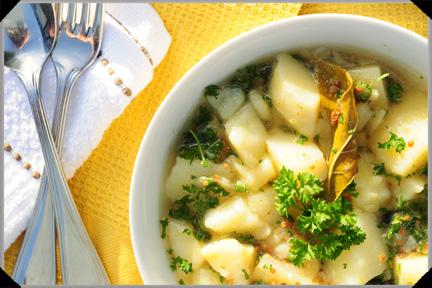 Potatoes a la Grecque