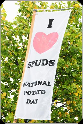 Spud flag