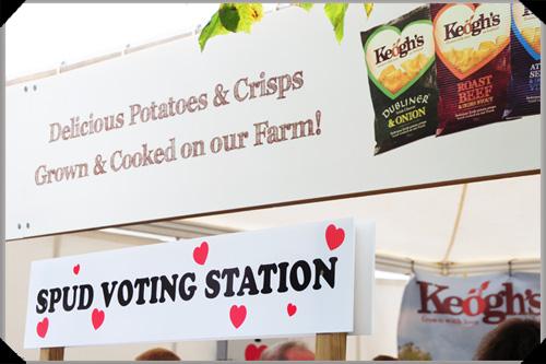 Spud voting station