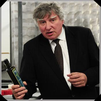 John Rogers with Newgrange Gold oil