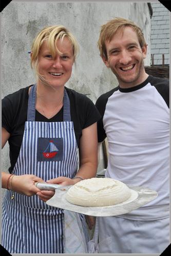 Laura Moore and Patrick Ryan