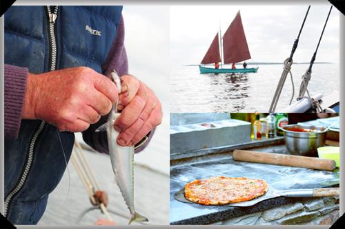Sailing and fishing off Heir Island