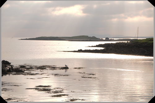 View from Heir Island