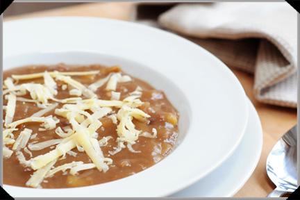 Potato and beer soup