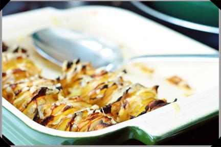 Potato Celeriac Gratin with Glebe Brethan