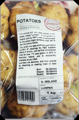 Lumper potatoes