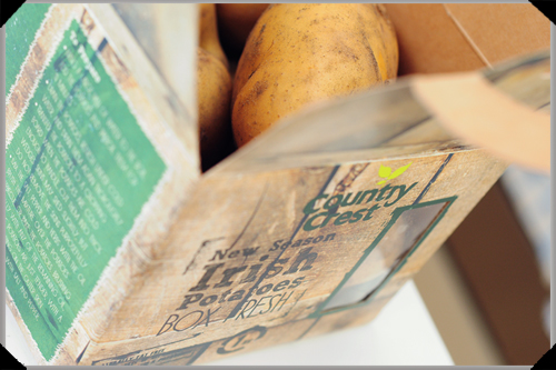 Country Crest new season Irish potatoes