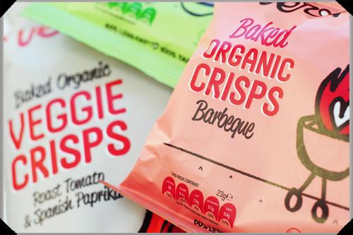 Veronica's Snacks: Barbeque crisps