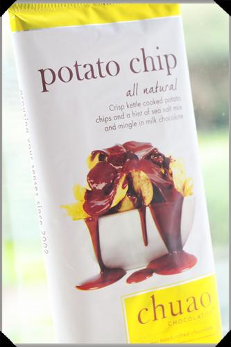 Potato chip chocolate by Chuao
