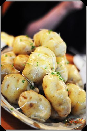 Boiled Lumper potatoes