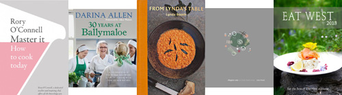 Irish cookbooks 2013