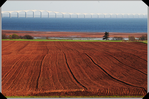 Confederation Bridge, Red Earth, PEI