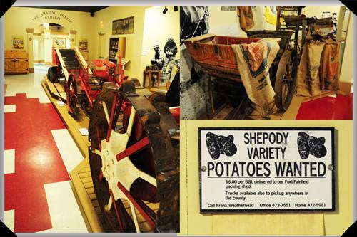Around the PEI potato museum